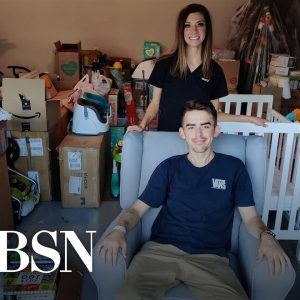 Nurse helps pregnant patient with COVID get baby gifts